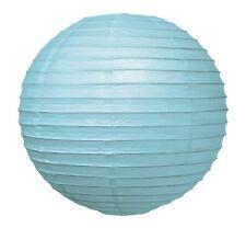 "WeGlow International 12"" Deluxe Paper Lantern - Light Blue (3 Pieces)"