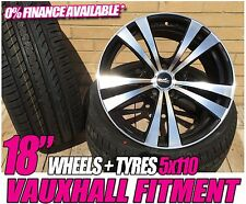"""18"""" SPLITZ WHEELS AND TYRES PACKAGE TO FIT VAUXHALL ASTRA VECTRA ZAFIRA"""
