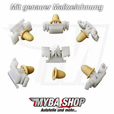 15x ZIERLEISTENKLAMMER M-TECHNIK KLAMMER CLIPS FÜR BMW E36 TÜLLE 51132251394 NEU
