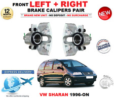 FOR VW SHARAN 1996-ON FRONT LEFT + RIGHT BRAKE CALIPERS 1.8 1.9 TDi 2.0 2.8 VR6