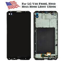LG V20 VS995 H918 LS997 H910 H915 F800 LCD Display Touch Screen Digitizer Frame