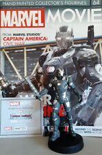 MARVEL MOVIE COLLECTION #64 War Machine Figurine (Captain America: Civil War) en