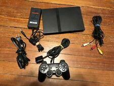 Sony Playstation 2 PS2 SLIM Console Bundle - 1 Controller - Tested