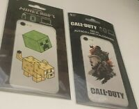 Minecraft Call of Duty Sticker Decal Phone Laptop Lot of 2