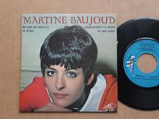 """DISQUE 45T DE MARTINE BAUJOUD  """" HE M'MAN """""""