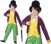 bambini ROALD DAHL Willy Wonka GIORNATA DEL LIBRO COSTUME VESTITO BY smiffys