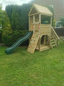 Heavy Duty Children's Climbing Frame 1 Tower *NO Self Assembly required*