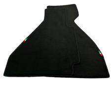 Floor Mats For Ferrari 328 GTB 1985-1989 Black Tailored Carpets Italian Emblem