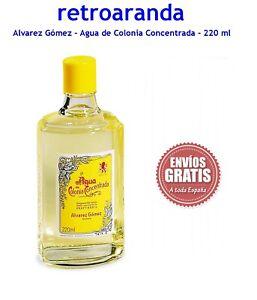 Agua de colonia - Alvarez Gómez - 220 ml - Sin usar.