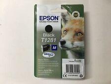 original Epson Tintenpatrone T1281 Black Schwarz 08/2020 Fuchs OVP mit Rechnung