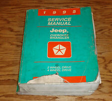 Original 1995 Jeep Cherokee / Wrangler Shop Service Manual 95