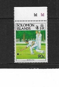 1991 Solomon Islands - Bowls - Single Stamp - Unmounted Mint.