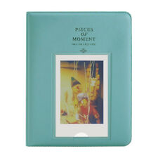 Fuji Instax Photo Album 64 Pockets Blue for Fujifilm Mini Film 7S 8 9 25 50S 90
