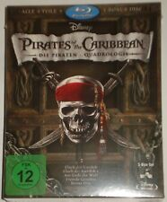 Pirates of the Caribbean 1-5 (6-Blu -Ray) Fluch der Karibik 1-5 Salazars Rache