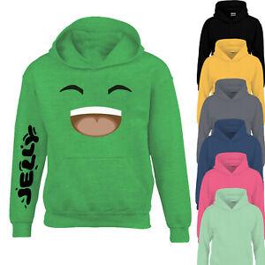 Silly Jelly Merch Kids Hoody Youtuber Gamer Tee Boy Girl Hoody YS-YXL Size