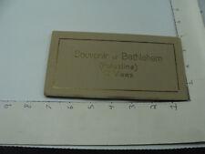 vintage Original Souvenir of BETHLEHEM (PALESTINE) 12 views PHOTOS early