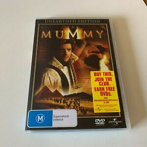 The Mummy (DVD, Region 4, 1999) Unearthed Edition