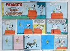 Peanuts by Charles Schulz - large half-page color Sunday comic - May 10, 1970