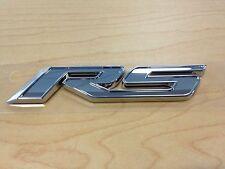 "GENUINE GM CHEVROLET CRUZE ""RS"" NAMEPLATE IN CHROME GM# 19260048"