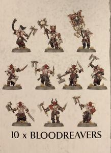 Warhammer Age of Sigmar Blades of Khorne Bloodreavers 10 Stück unbemalt