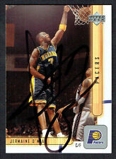 Jermaine O'Neal #63 signed autograph auto 2001-2002 Upper Deck Basketball Card