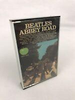 THE BEATLES Abbey Road CASSETTE TAPE 4XT-383 Apple Records Paper Label