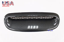 For Mini Cooper S R52/R53 01-06 Hood Vent Cover Air Intake Scoop Carbon Look USA