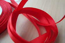 ** Satin Ribbon, Red Colour 10mm x 5 Mtres**