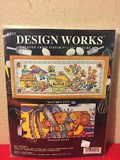 """Design Works Mice """"Kitchen Fun """" Counted Cross-Stitch Picture Kit #9427 SEALED!"""