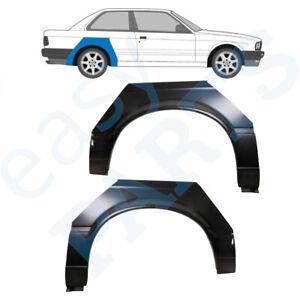 BMW 3 E30 1982-1987 2 DOOR REAR WHEEL ARCH REPAIR PANEL REAR WING / PAIR