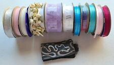 Mixed Lot of RIBBONS sewing craft supplies trim