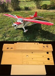 1/4 Scale CLIPPED WING TAYLORCRAFT R/c Plane partial kit/short kit & plans
