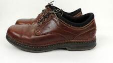Street Cars Mens 11 Oxford Shoes Brown Lace Up Leather Comfort Footwear