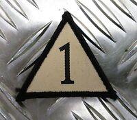 Genuine British Army 1 Mechanized Brigade Triangle Patch / Badge