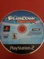 🏆🏆 Splashdown: Rides Gone Wild  Sony PlayStation 2 PS2 Tested 🏆🏆