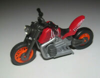 Playmobil Accessoire Moto Byker Rouge Noir Roue Orange NEW