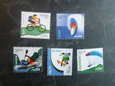 2014 PORTUGAL EXTREME SPORTS SET 5 MINT STAMPS MNH