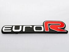 Honda Euro R Emblem Badge Sticker logo decal ACCORD Civic Acura RSX JDM 3D