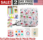 For Fujifilm Instax Mini 9 8 8 Accessories Package With Case 9 PACK Bundle Set
