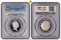 1997 Australia 20 Cents PCGS PR68DCAM Very stylish Design