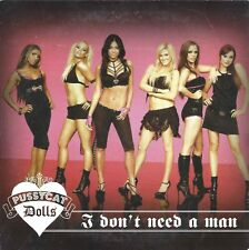 Pussycat Dolls ‎– I Don't Need A Man   cd single in cardboard
