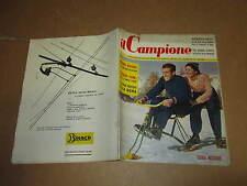 RIVISTA SPORTIVA IL CAMPIONE ANNO 1957 ANNO III° N°3 MESSINA FONI ROGHI