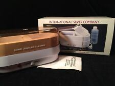 International Silver Company Sonic Jewelry Cleaner ~ New ~ No Solution