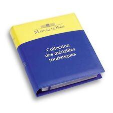 Classeur Monnaie de Paris pour médailles souvenirs et jetons touristiques