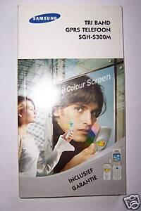 Bedienungsanleitung für Samsung SGH-S300M dutch