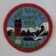 Chief Seattle Council (WA) R2b Council Patch  BSA