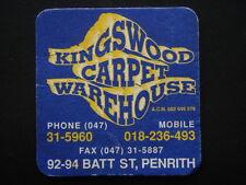 KINGSWOOD CARPET WAREHOUSE 92-94 BATT ST PENRITH 047 315960 COASTER