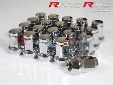 20 x Chrome Hex Wheel Nuts M12x1.25 Fits Suzuki Swift Ignis Wagon-R Alto