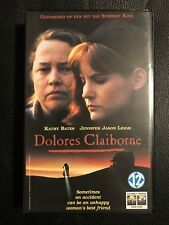 Stephen King Dolores Claiborne VHS Tape English with dutch subs