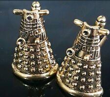 Doctor Who Dalek  Mens Cufflinks Gift Dalek  Davros Dr TV Blue Silver valantine
